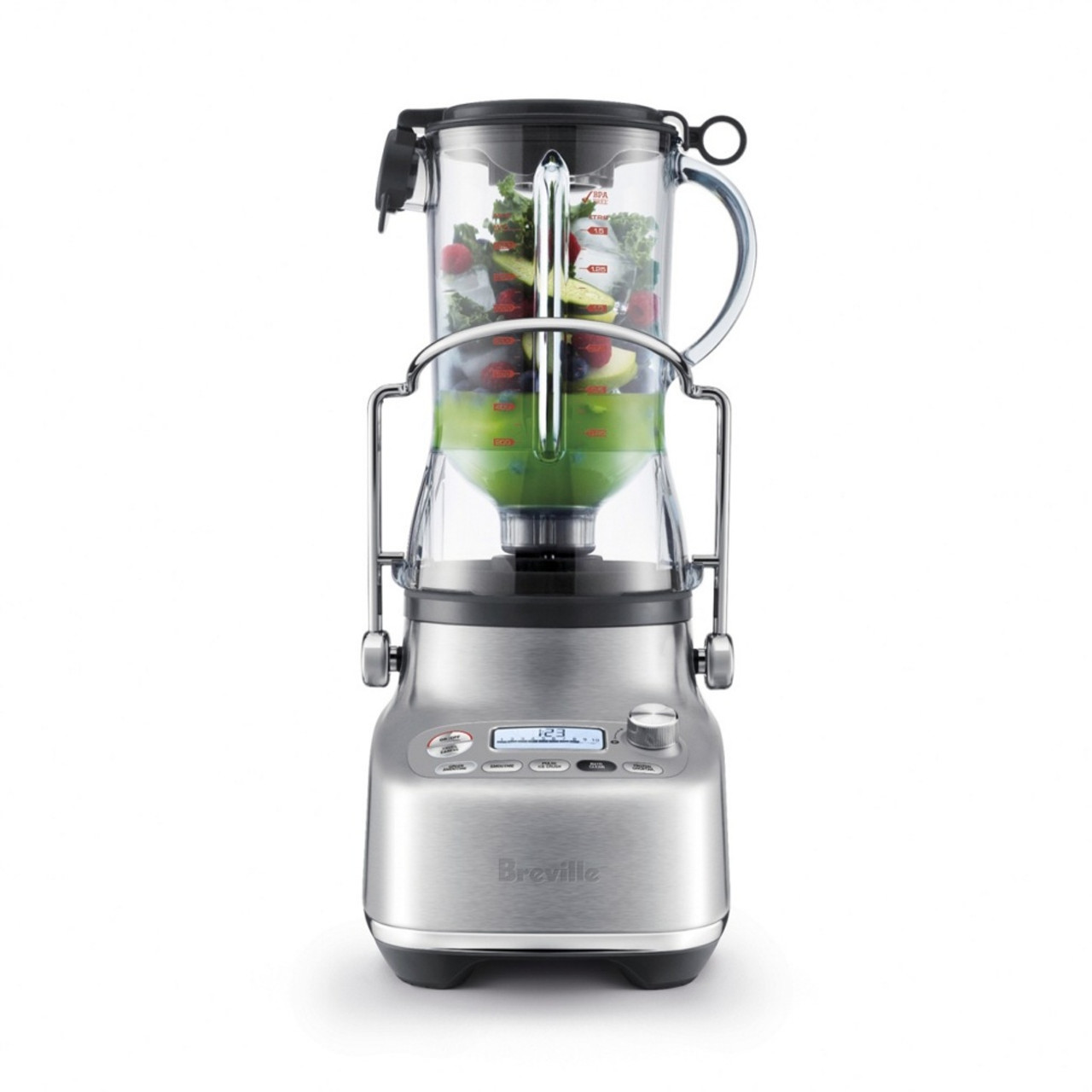 Breville BJB815BSS the 3X Bluicer™ Pro Blender, Juicer and Bluicer - RRP $649.95