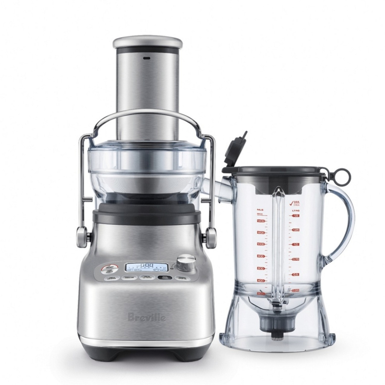 Breville BJB815BSS the 3X Bluicer™ Pro Blender, Juicer and Bluicer