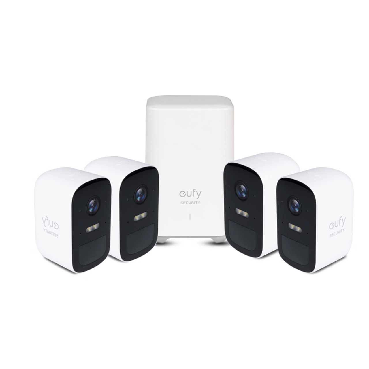 Eufy T8833CD2 1080p 2C Wire Free Security 4-Camera Kit With AI Homebase Unit - RRP $699.95