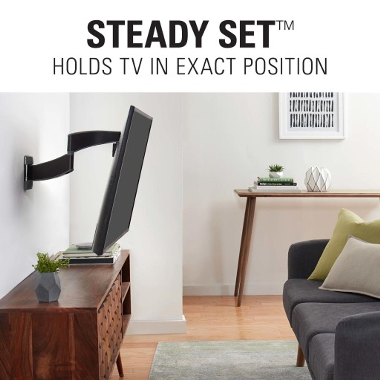 Sanus VSF716-B2 Advanced Full-Motion Premium TV Mount for 19 - 40 Inch TVs