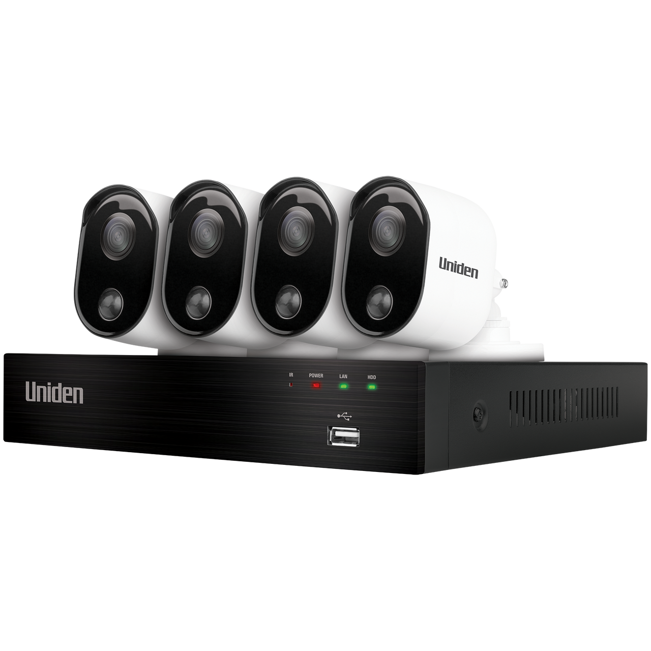 Uniden GDVR20440 Guardian 1TB Full HD 4 Camera Thermal Weatherproof CCTV System