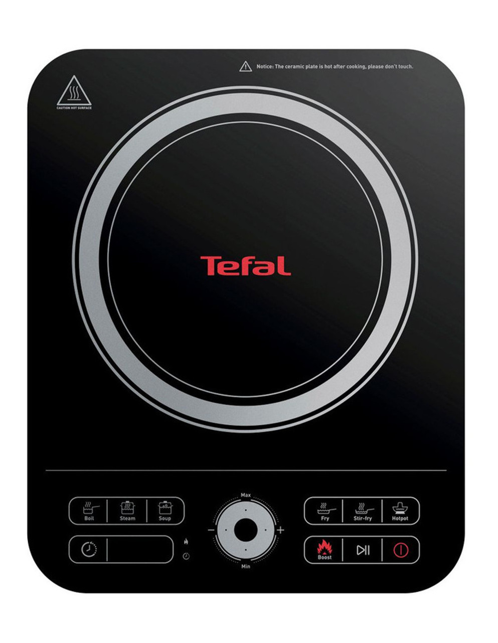 Tefal IH720860 Express Induction Hob with Cooking Timer and Digital Display