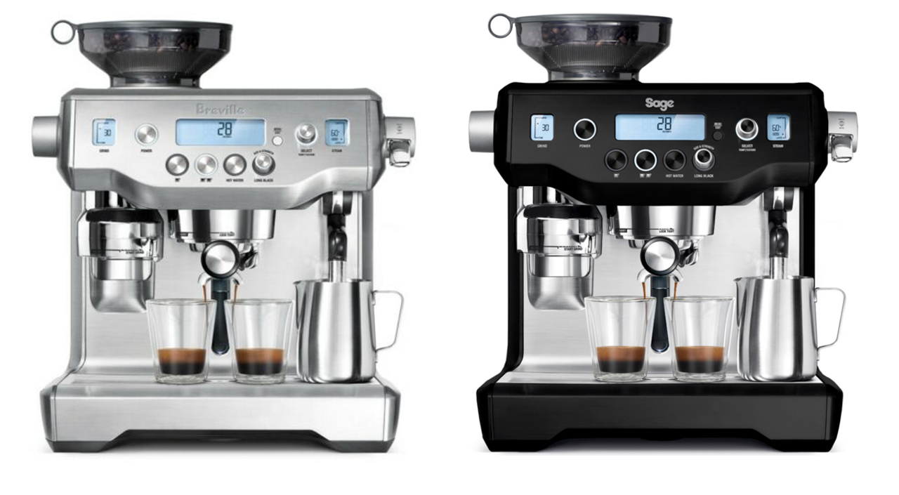 Breville BES980BSS/BES980BTR the Oracle® Dual Boiler 1800W Espresso Machine