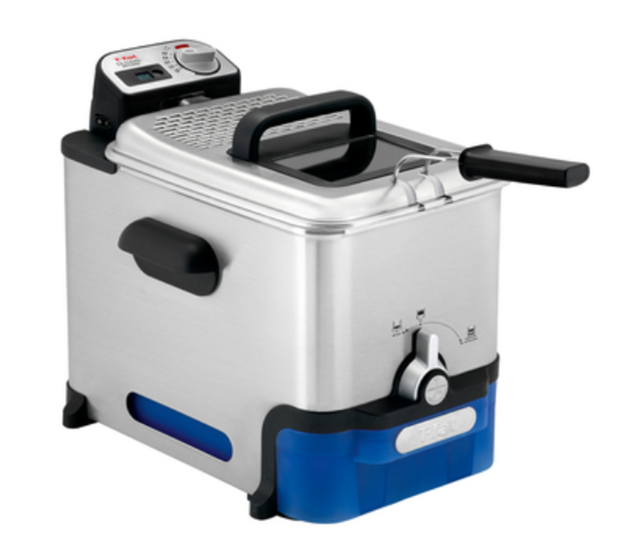 Tefal FR8040 Oleoclean Pro Deep Fryer with Automatic Oil Filtration System