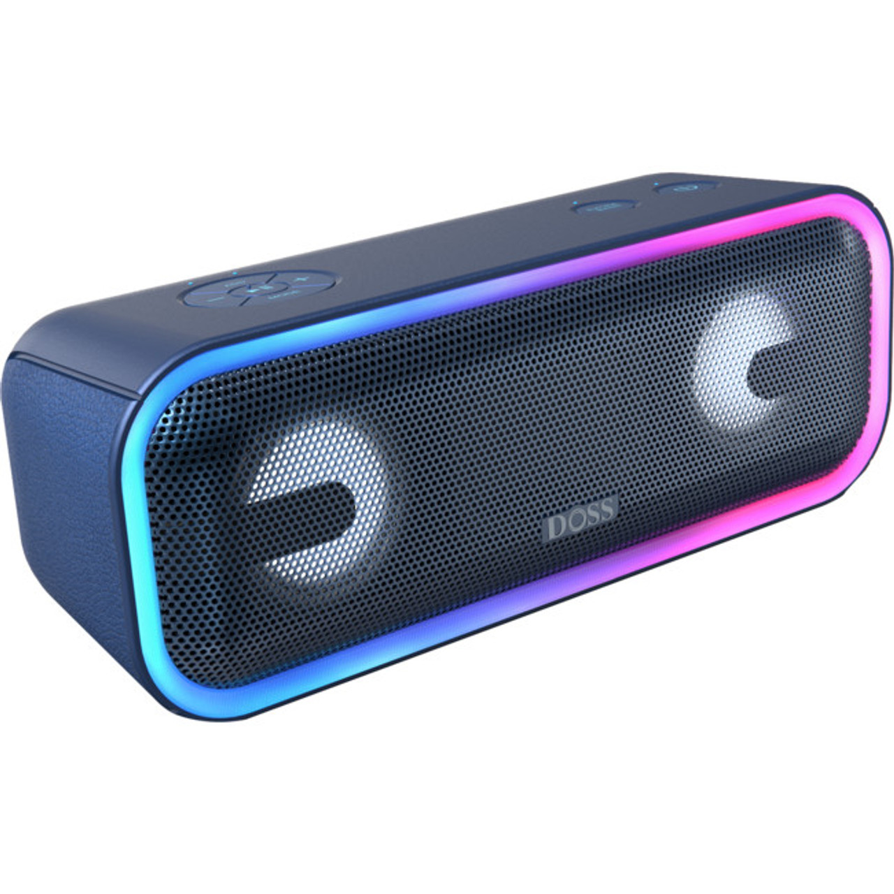 Doss WB20BLK/WB20BLU Soundbox PRO+ Portable Bluetooth Speaker - Black/Blue