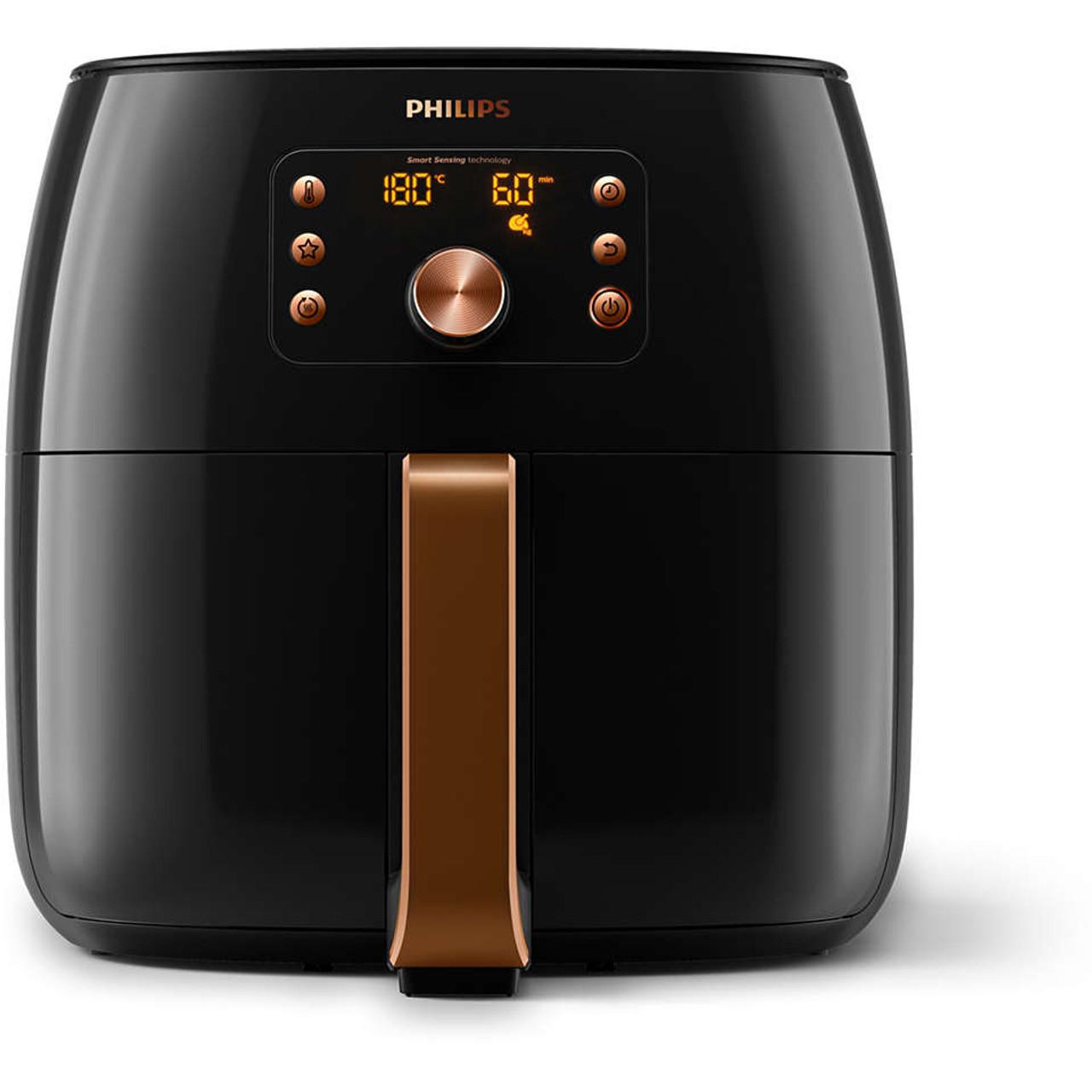 Philips HD9861/99 Smart Digital Airfryer XXL With Smart Sensing Tech - Black