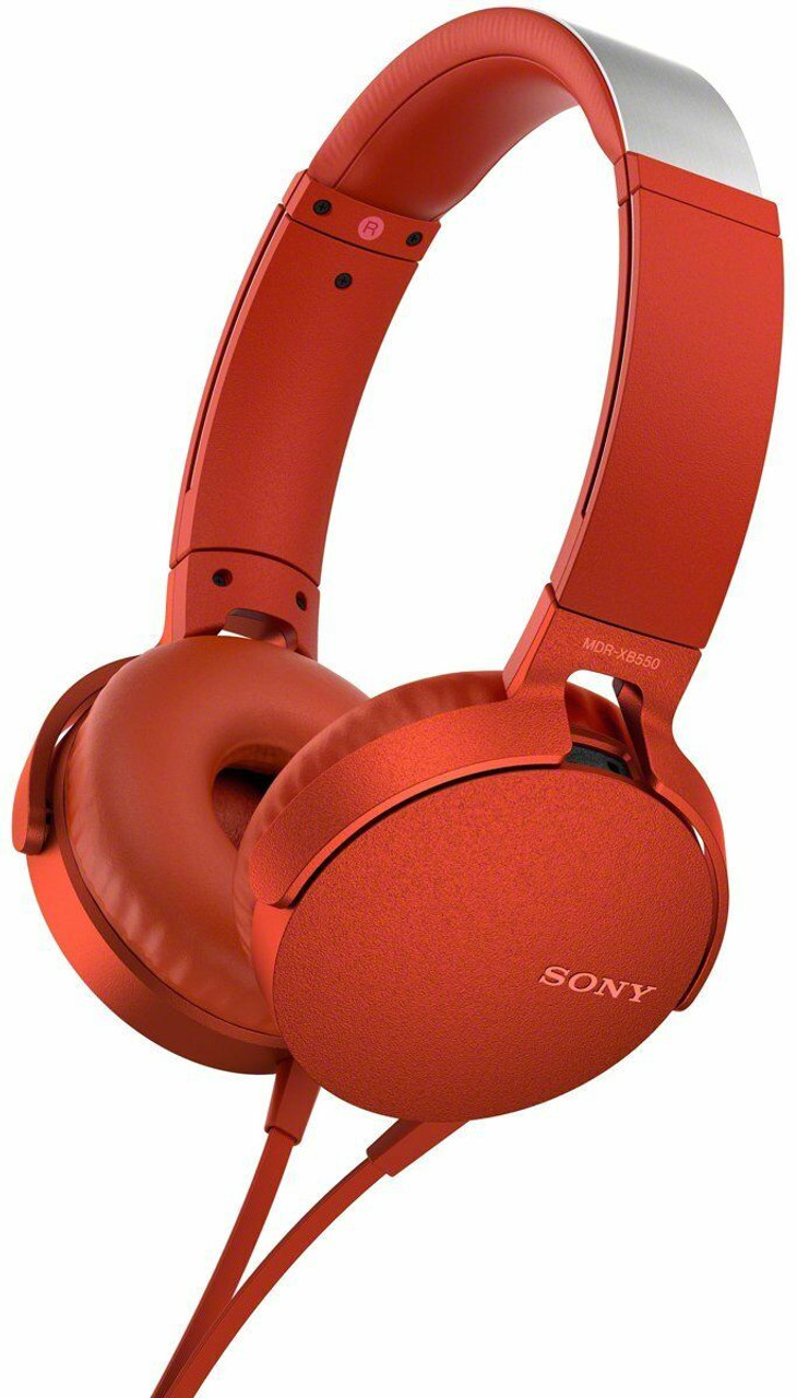 Sony MDR-XB550 EXTRA BASS™ Headphones - Black/Red/Green/Blue/White
