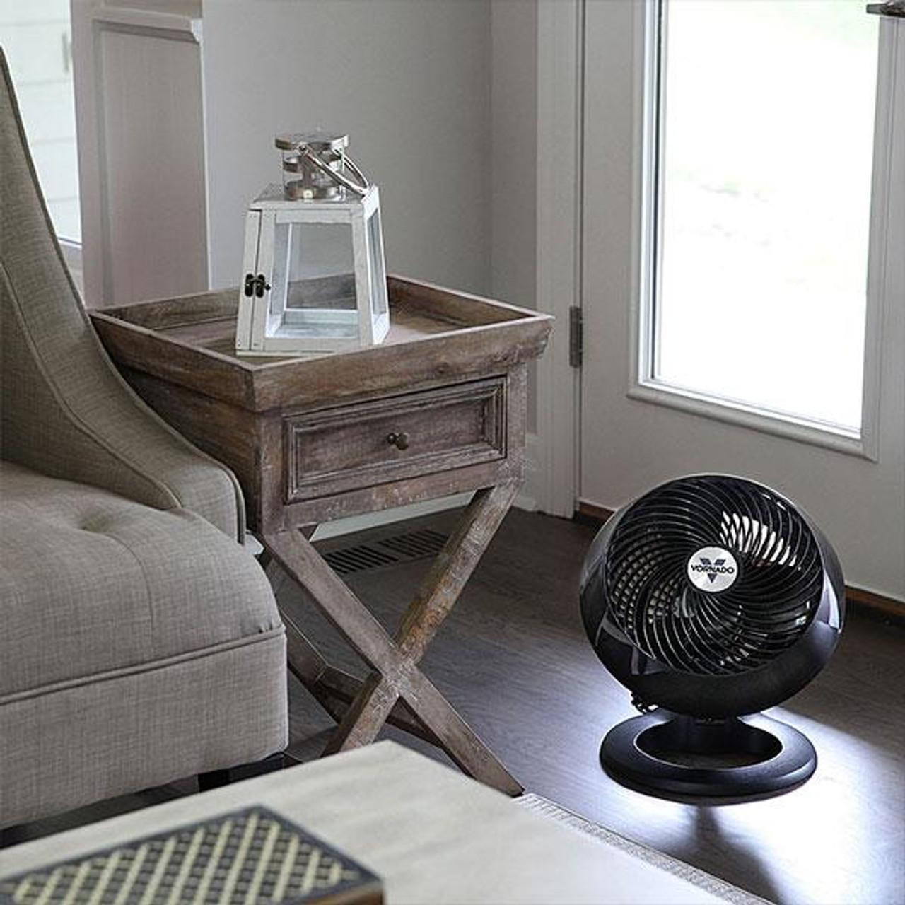 Vornado 71660 Large Air Circulator 25cm Floor Fan - Black - LAST 4!