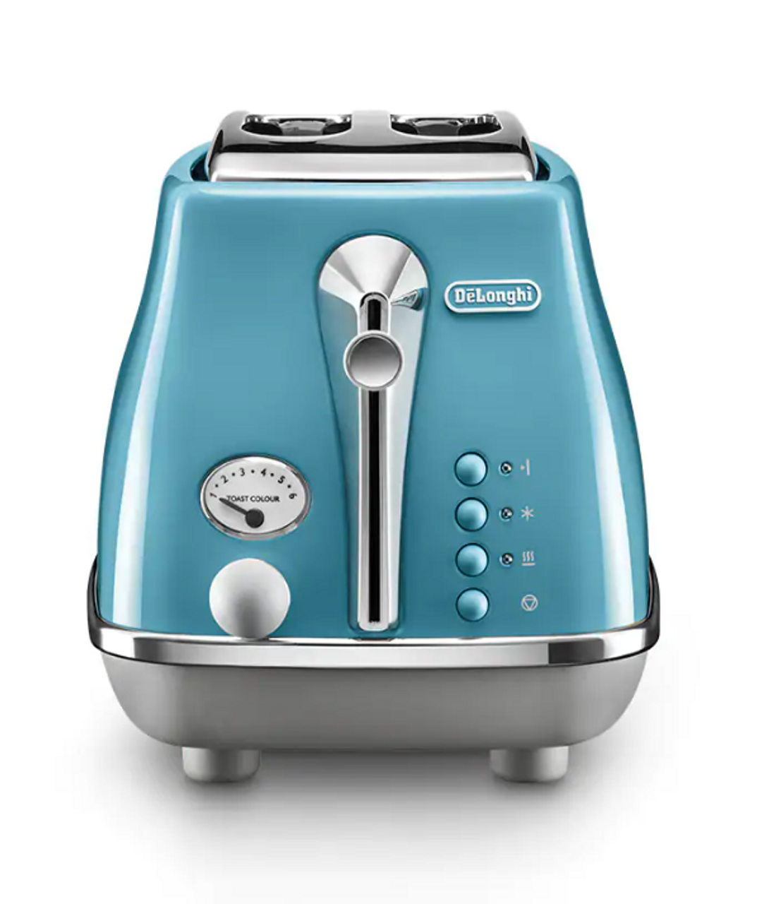 Delonghi CTOC2003AZ/KBOC2001AZ Icona Capitals 2 Slice Toaster + Kettle PACK - Blue