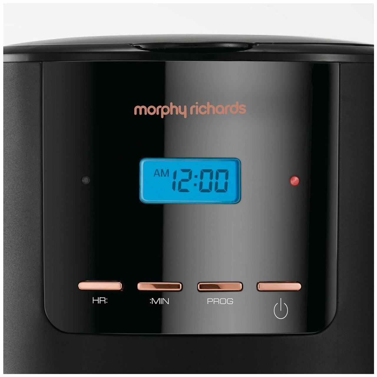 Morphy Richards 162030AUS 12 Cup 1.8L 1100W Filtered Coffee Maker - Rose Gold