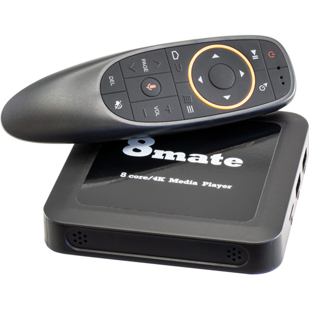 8Mate 8MATEV3 8 Core 4K 7.1 Android Media Player with Air Remote and HDMI Cable