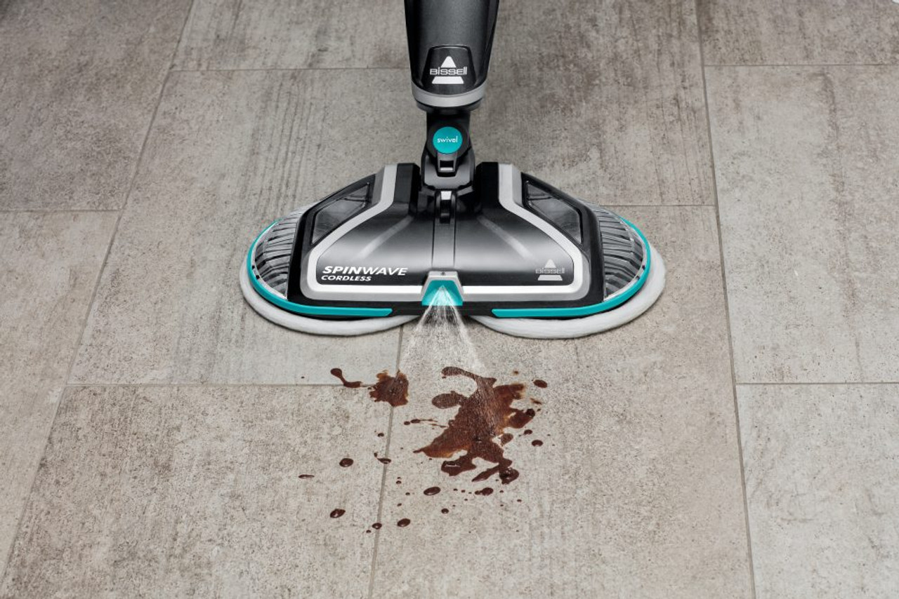 Bissell 2240F SpinWave™ Cordless Electric Mop Hard Floor Cleaner
