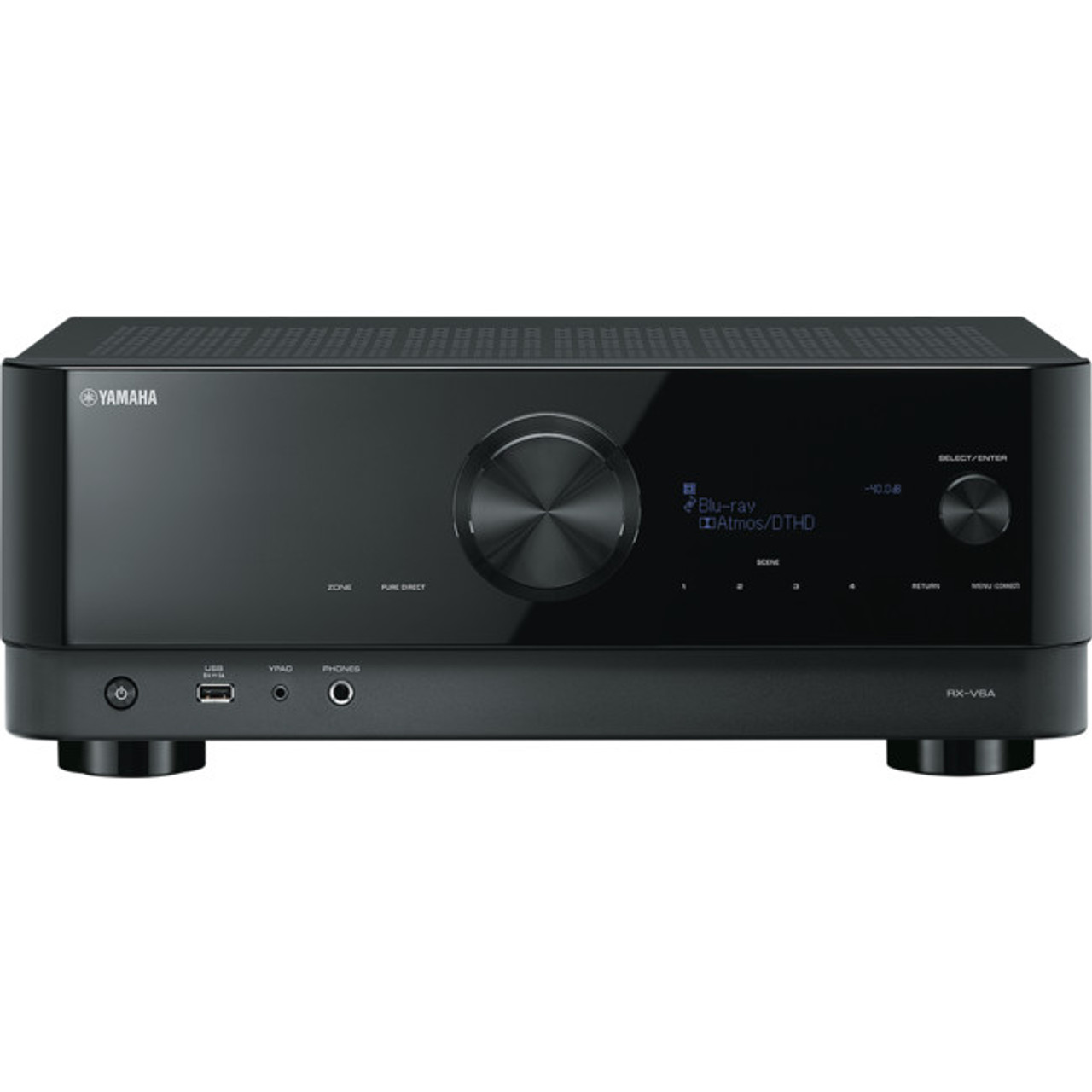 Yamaha RX-V6A 7.2Ch 4K AV Receiver with Cinema DSP 3D and Dolby Atmos®
