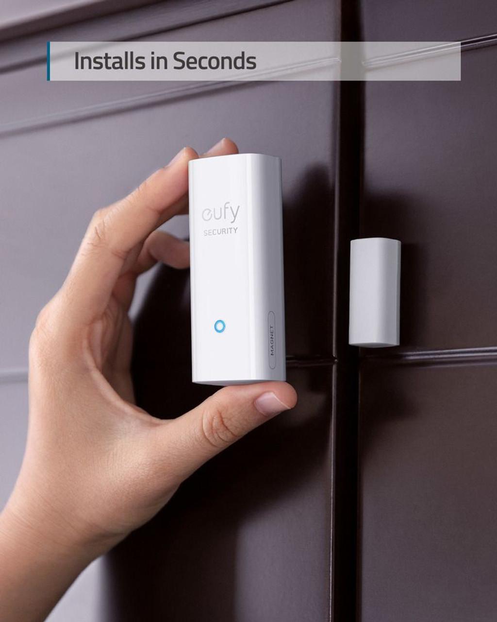 Eufy T8900CD4 Door & Window Wireless Security Entry Sensor Add-On