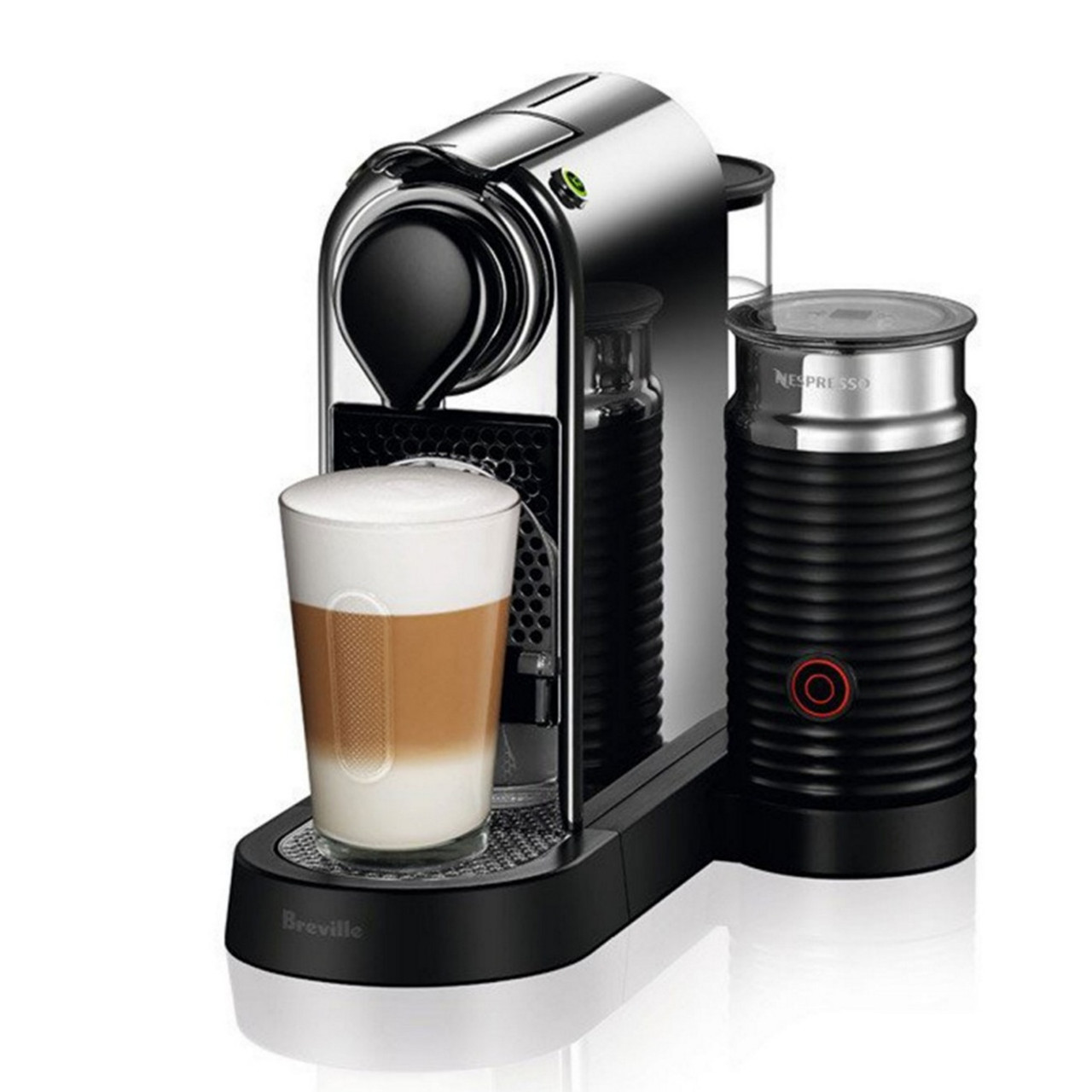 Breville BEC660CRO Nespresso CitiZ&milk Espresso Machine with Frother
