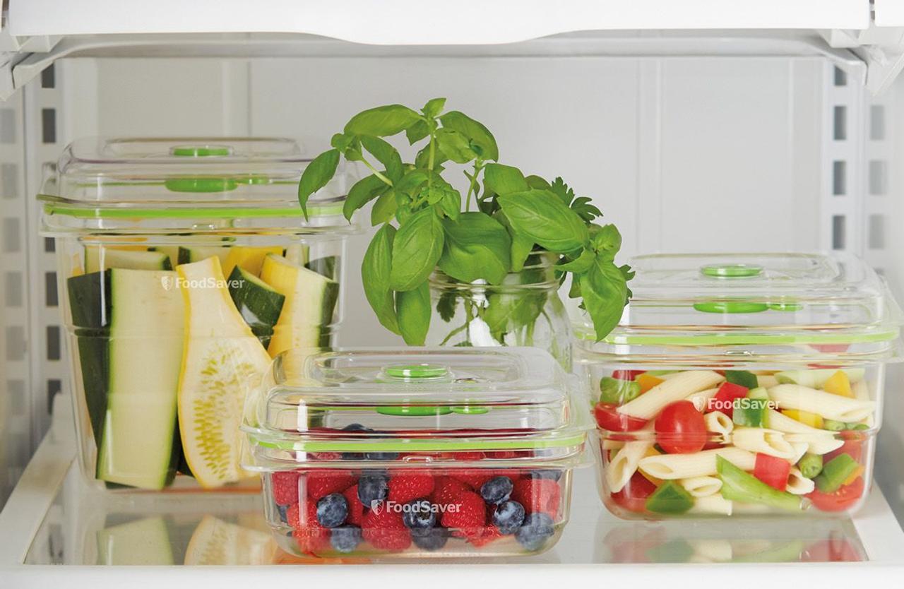 Sunbeam VS0655 FoodSaver Fresh 3 Piece Container Set - RRP $64.95