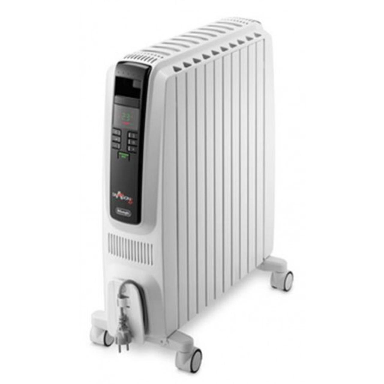 Delonghi TRD42400ET 2400W Dragon 4 Electric Oil Column Heater w/ Timer