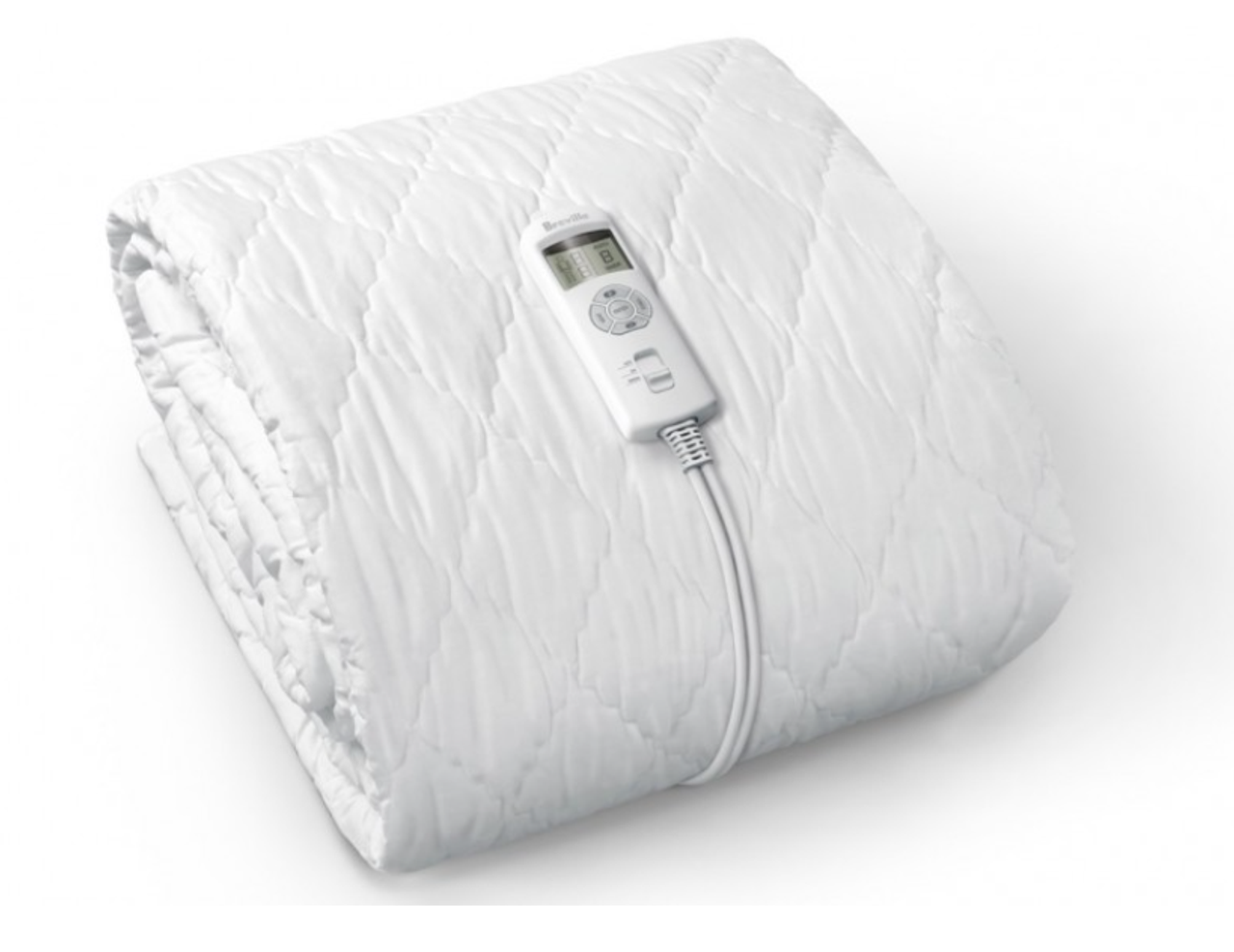Breville LZB518WHT BodyZone Connect Quilted Fitted Heated Blanket - Single