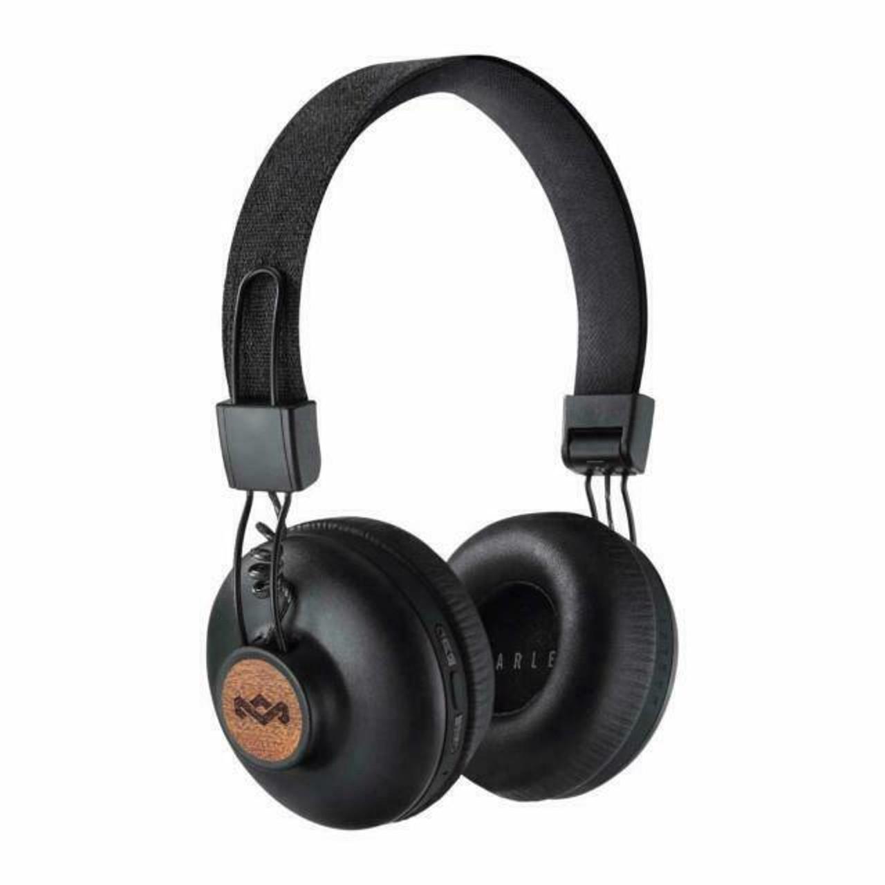 House of Marley EMJA133SB Positive Vibration 2 Over the Ear Headphones - Black
