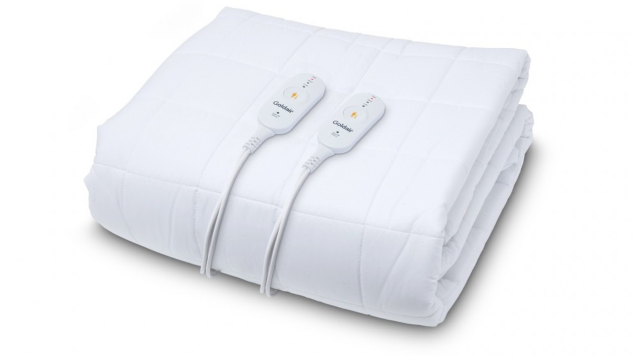 Goldair GWP-S Water Proof Fitted Queen Electric Blanket - Single