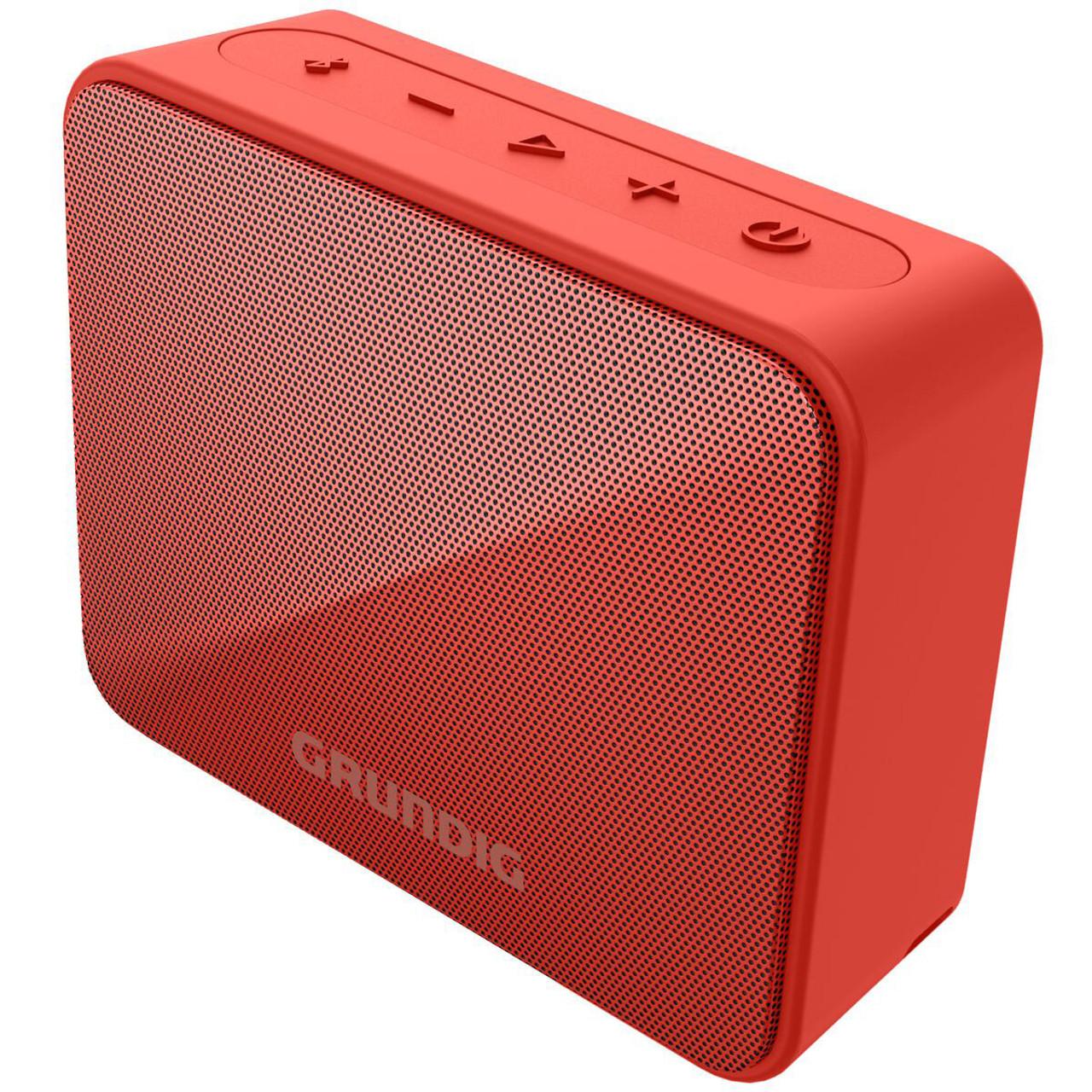 Grundig GLR7751 GBT Solo Waterproof Bluetooth Speaker - Coral