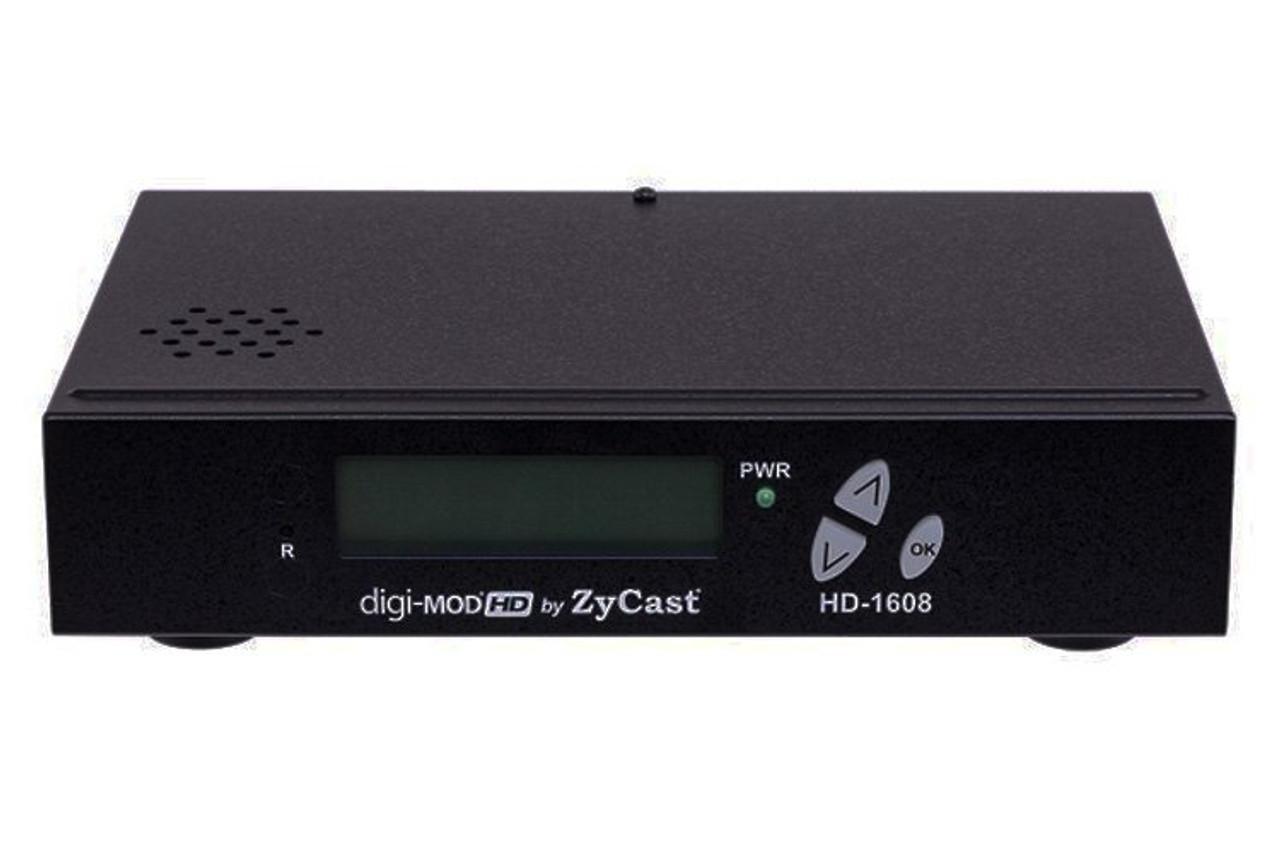 ZyCast HD-1608 DVB-T Single Input HD Digital Modulator - Black