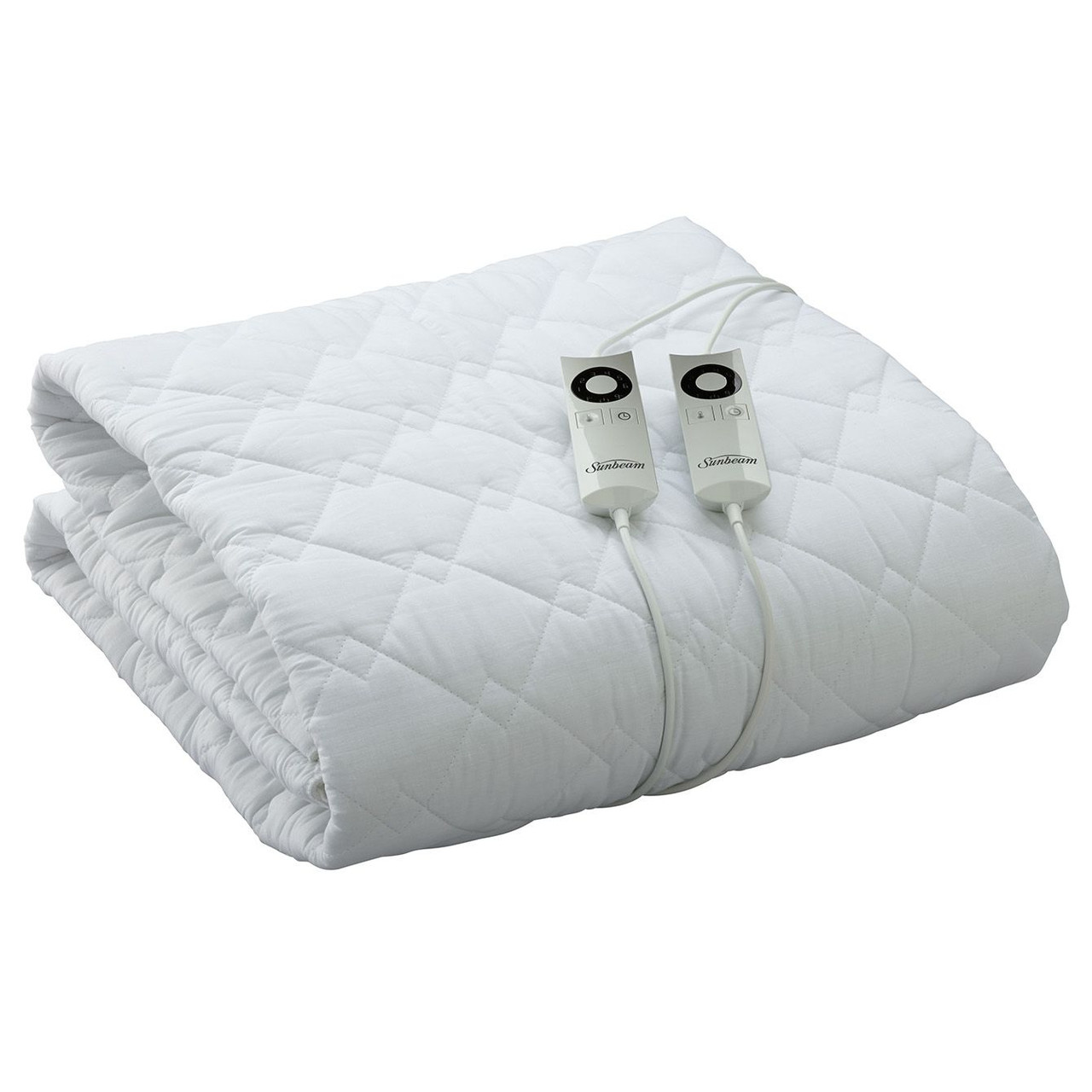 Sunbeam BLQ5451 Sleep Perfect™ Quilted Electric Blanket - Queen Bed