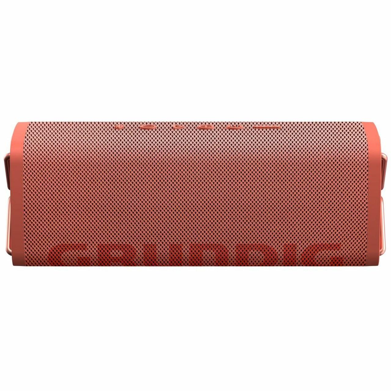 Grundig GLR7761/GLR7762 CLUB Waterproof Portable Bluetooth Speaker - Black/Coral