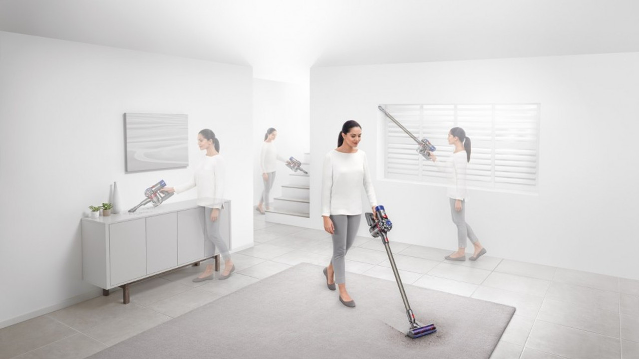 Dyson 369398-01 V8 AnimalV2 Extra Handstick Vacuum Cleaner with Attachments
