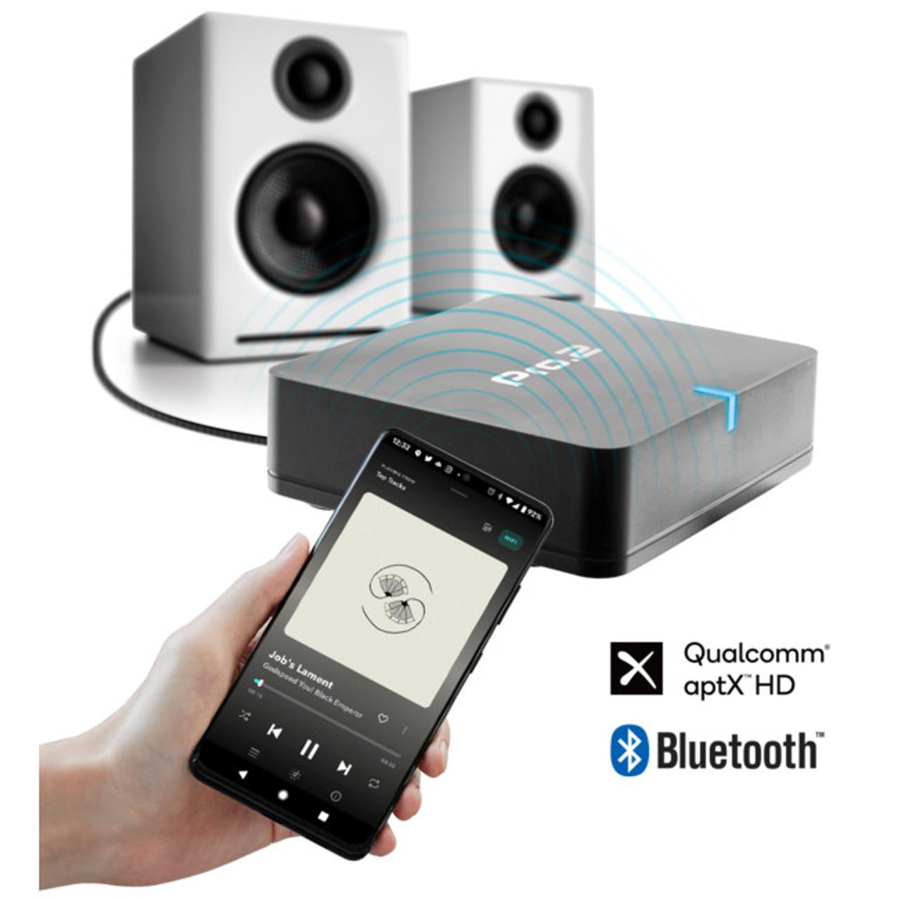 PRO2 BMR5X Bluetooth Music Receiver APTX HD Codec BT5.0 - Black