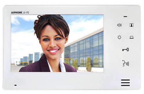 """Aiphone JO-1FD 7"""" Expansion Monitor Slim Design With VOX or PTT Communication"""