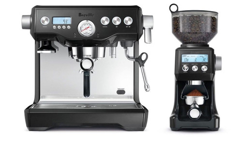 Breville BEP920BKS the Dynamic Duo™ The Dual Boiler + Smart Grinder Pro - HURRY LAST 1!