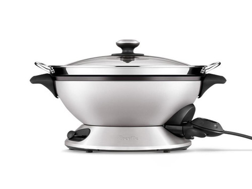 Breville BEW820BSS the Hot Wok & Steam 2400 Watts -  Stainless Steel