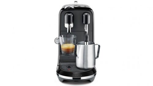 Breville BNE500BKS Nespresso Creatista Uno Espresso Coffee Machine -Black Sesame