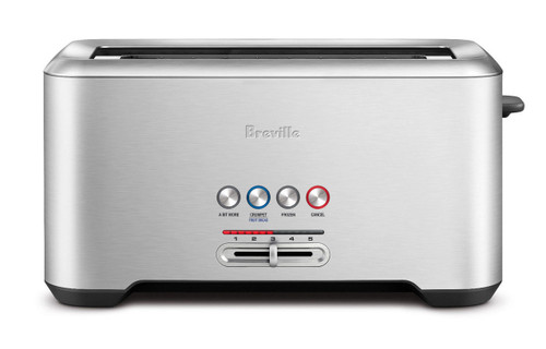 Breville BTA730BSS the Lift & Look ® Pro 4 Slice Toaster