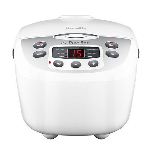 Breville BRC460 the Rice Box™ 10 Cup Programmable Rice Cooker