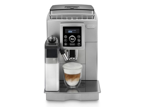 DeLonghi ECAM23460S Compact Automatic Coffee Machine - Silver