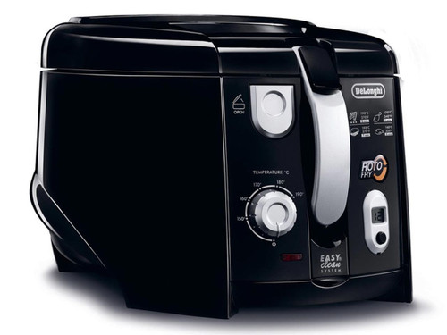 Delonghi F28313BK RotoFry Deep Fryer with 1kg Food Capacity