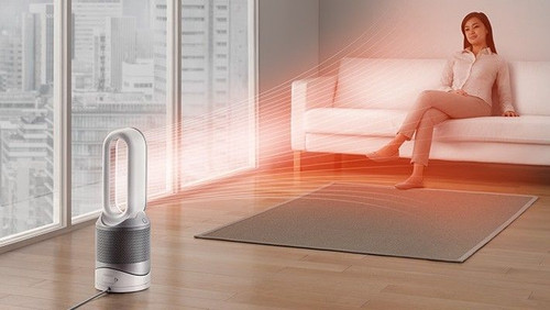 Dyson 308008-01 Pure Hot + Cool Link™ Purifier Heater - White/Silver