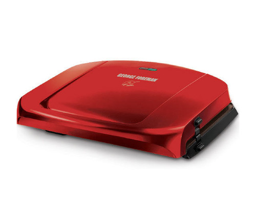 George Foreman GRP1080AU Easy to Clean Grilling Machine - Candy Apple Red