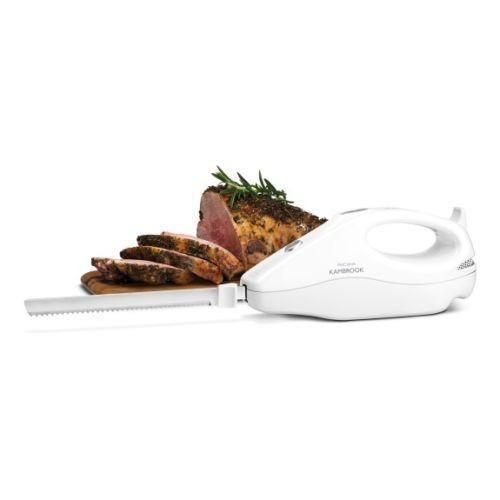 Kambrook KEK120WHT ProCarve Electric Knife with Dual Serrated Blades