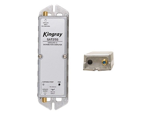 Kingray SAT25S F-Type Satellite Distribution Amplifier - RRP $249.00