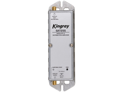 Kingray SAT25S F-Type Satellite Distribution Amplifier