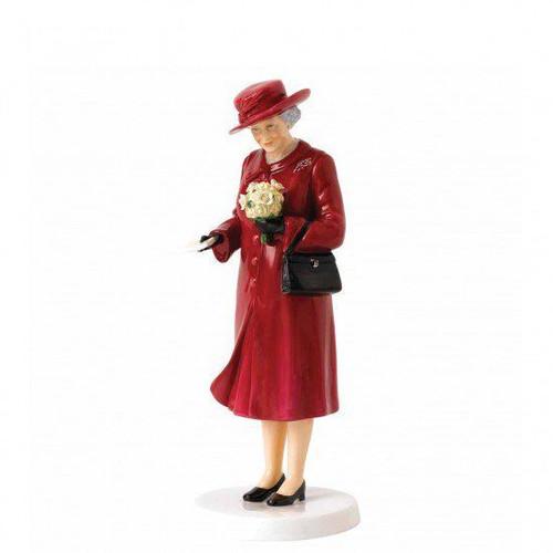 Royal Doulton Royal Commemoratives Birthday Celebration Figurine 22cm