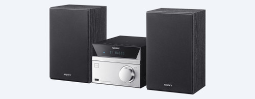 Sony CMT-SBT20B Hi-Fi Audio System with BLUETOOTH® Technology