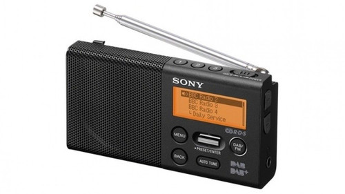 Sony XDR-P1DBP Pocket DAB/DAB+ Radio - Black
