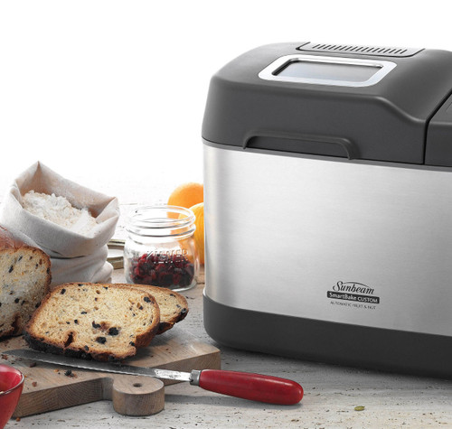 Sunbeam BM7850 SmartBake® Custom 1.25kg Bread Maker