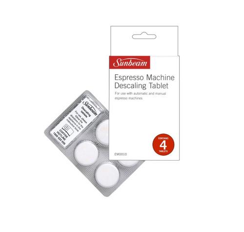 Sunbeam EM0010 Espresso Machine Descaling Tablets x 4