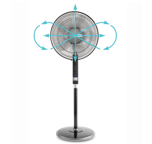 Sunbeam FA8900 Infinity 40cm Pedestal Fan with Tri-Movement Oscillation