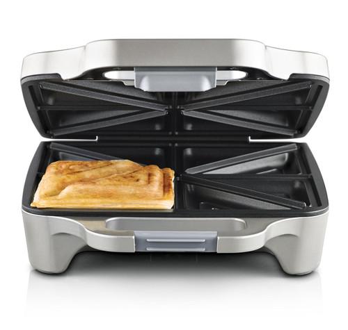 Sunbeam GR6450 Big Fill Toastie™ For 4 Sandwich Maker with Cut & Seal Design